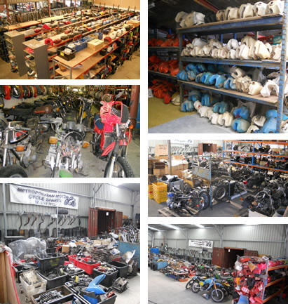 about us - metropolitan motorcycle spares - motorcycle wreckers
